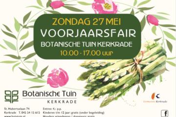 Botanische Tuin Kerkrade : Voorjaarsfair u botanische tuin kerkrade